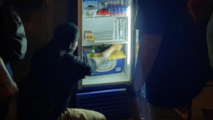 Sidak Protokol Kesehatan, Polisi Malah Temukan Minuman Keras di Kafe Kota Kediri