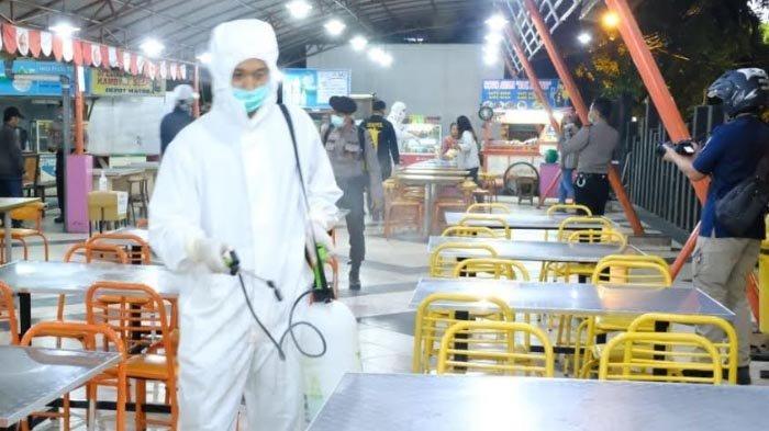 Polda Jatim Sidak Warga yang Nekat Cangkruk di kafe dan Warkop di Surabaya, Lalu Lakukan Ini