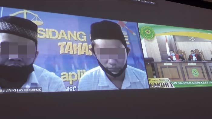 Dua Pengedar Sabu di Gresik Divonis masing-masing 4dan 5 Tahun Penjara serta Denda Rp 800 Juta
