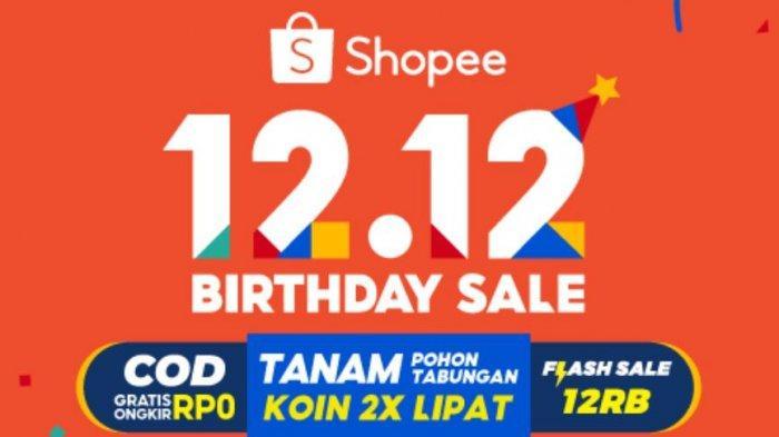 Cara Menang Flash Sale Shopee 12.12 Birthday Sale Rp 12.000 Hari Ini, Perhatikan 5 Tips Jitunya!