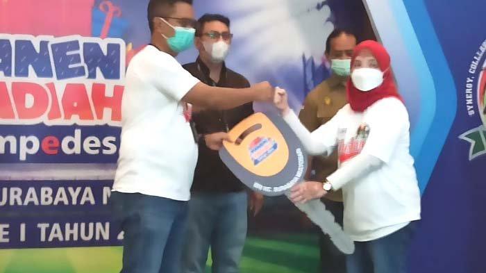 Nasabah Simpedes Unit Semolowaru Surabaya Raih Honda Mobilio di PHS Periode I 2021