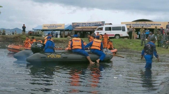 Masuk Daerah Rawan Banjir, Tim Gabungan Banyuwangi Gelar Simulasi Bencana