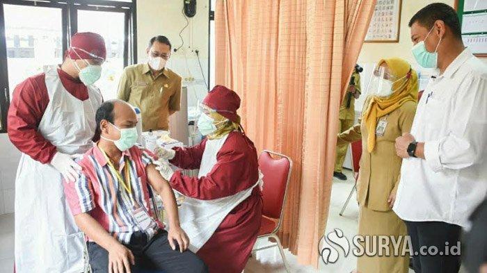 Hari Ini Kota Kediri Mulai Menggelar Simulasi Vaksinasi Covid 19