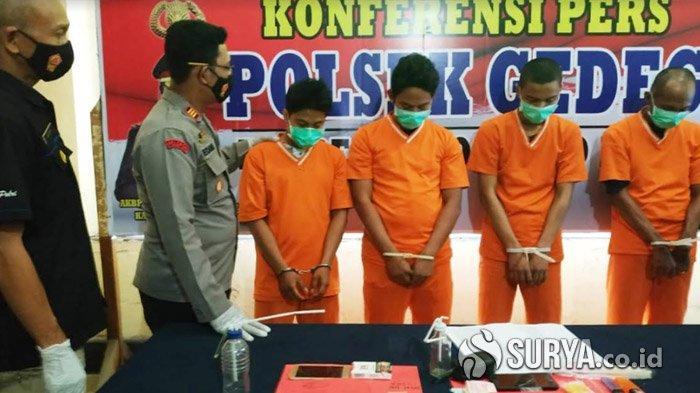 Jaringan Narkotika Surabaya - Mojokerto - Jombang Ditumpas, Sediakan Kamar Kos untuk Pesta Sabu