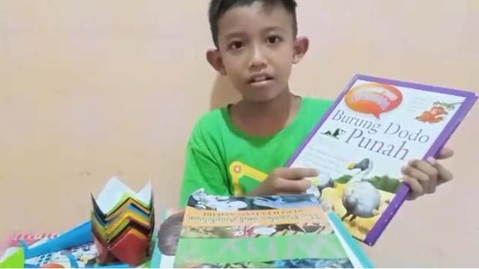 Liburan Siswa SD Al Falah Darussalam Mambaca dan Memasak, Aktivitas Dimonitor Guru via Video Call