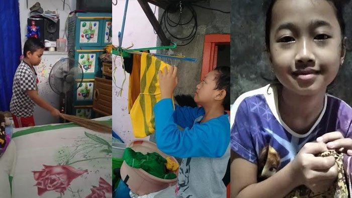 Tugas Unik dari Guru untuk Siswa SDN Pacarkembang 1/192 Surabaya, Membantu Orang Tua