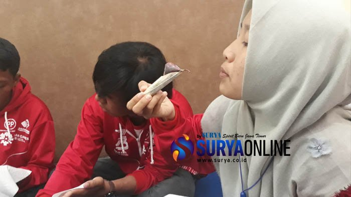 Di Bangkalan, Siswa Mengenal Nusantara BUMN Sumsel Belajar Membatik Madura