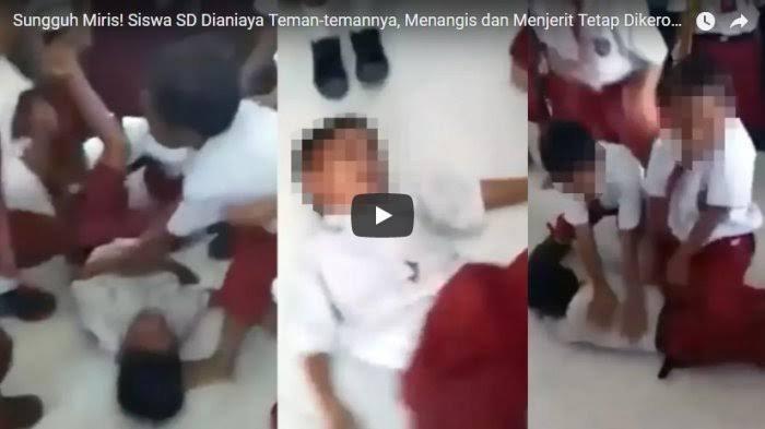 Murid SD Dikeroyok Teman Sekolahnya Hingga Video Viral, Sikap Orangtua Korban Justru Bikin Haru