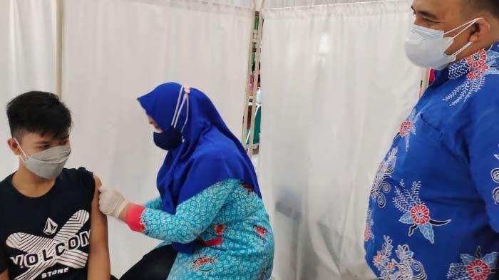 Puluhan Anak dan Remaja di Situbondo mulai Jalani Vaksinasi Covid-19