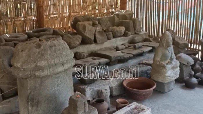 Situs Candi Purbakala di Desa Tunglur Kecamatan Badas Kabupaten Kediri