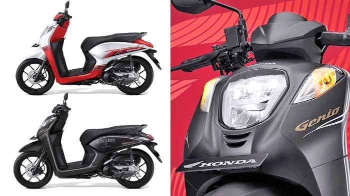 Ada 2 Tipe Skutik Honda Genio, Tersedia Dalam 11 Warna yang Fashionable