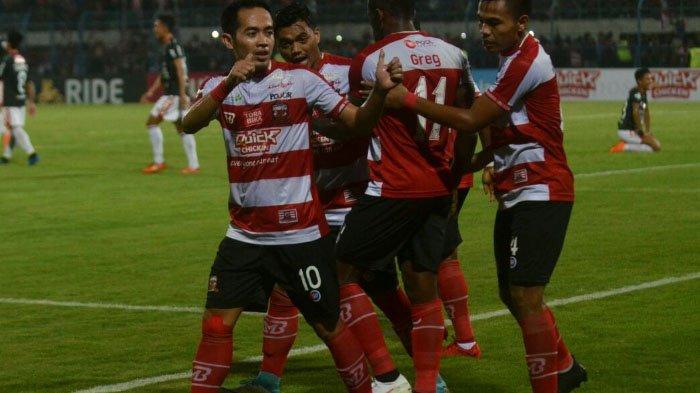 Kalteng Putra Vs Madura United, Laskar Sapi Kerrap Unggul 1-2 hingga Babak Pertama