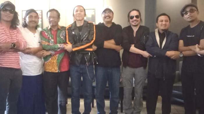 Tujuan Slank Ngaji Bareng Mahfud MD dan Ustad Yusuf Mansur di Surabaya Malam ini