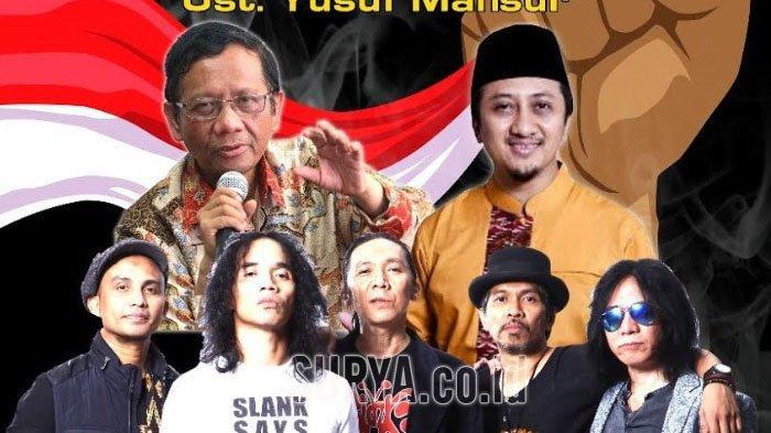 Ngaji Kebangsaan, Slank Tampil Sepanggung Bersama Mahfud MD dan Ustadz Yusuf Mansyur