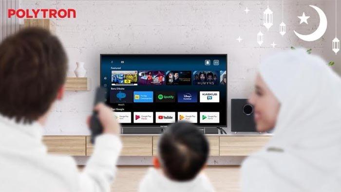 Akhir Pekan di Rumah Saja? Lebih Seru dengan Smart Cinemax Soundbar Android 4K Ultra HD Layar Lebar