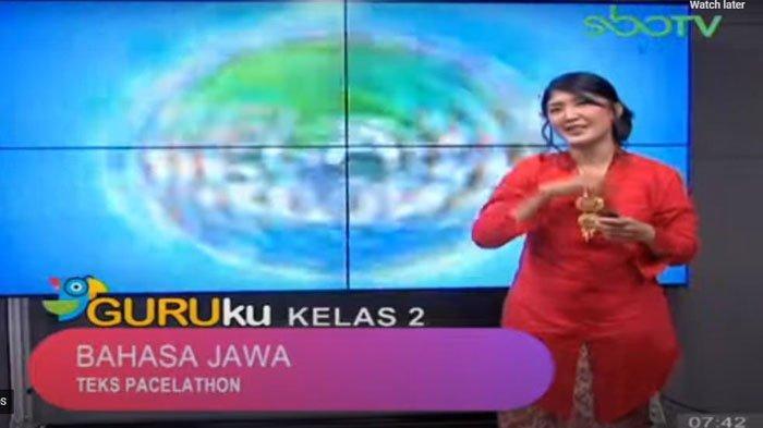 Ilustrasi - Tayangan Guruku di SBO TV
