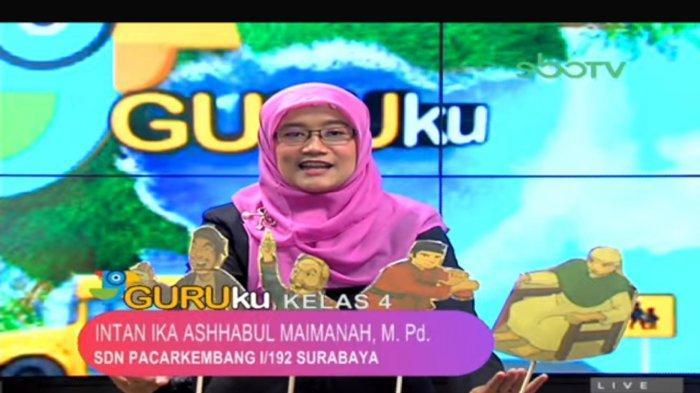 Soal dan Jawaban SBO TV SD Kelas 4 Jumat 12 Maret 2021: Carilah Cerita Rakyat di Daerah di Indonesia