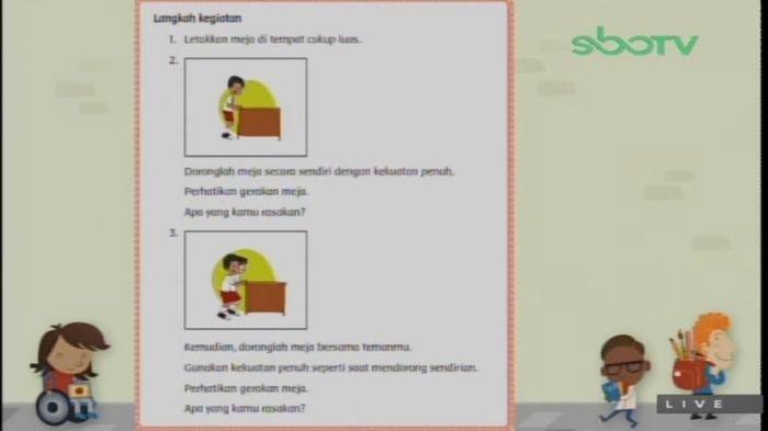 Soal SD Kelas 3 GURUKU SBO TV, Jumat (5/3/2021)