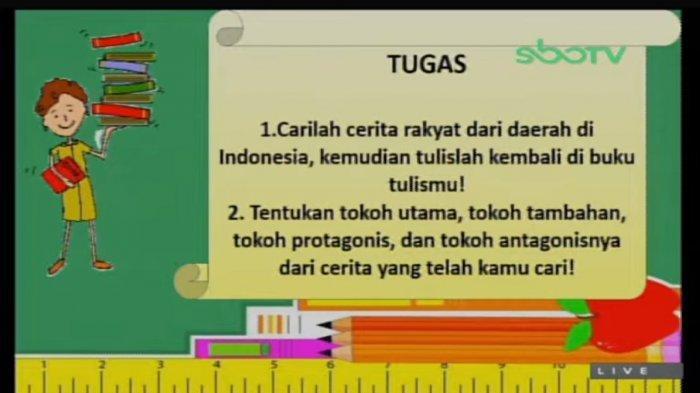 Soal SD kelas 3, SBO TV, Jumat (12/3/2021)