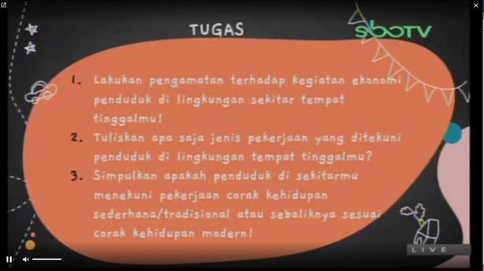 Soal SD Kelas 4 GURUku SBO TV, Jumat (26/3/2021)