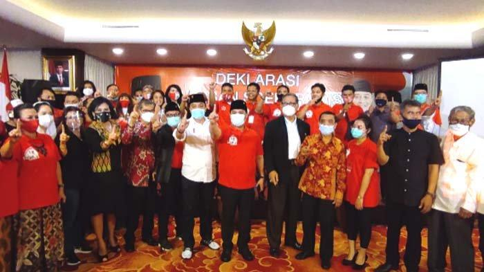 Ahmad Basarah Pimpin Barisan Soekarnois Dukung ErJi Menang Tebal di Pilkada Surabaya 2020