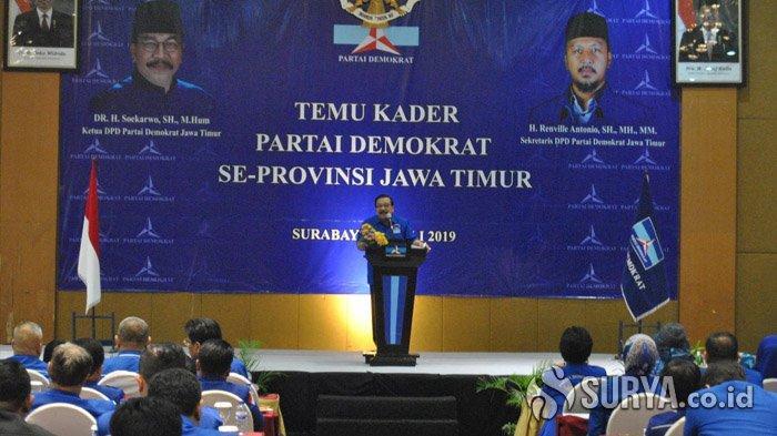 Pakde Karwo Jadi Komisaris Utama Semen Indonesia, DPP Siapkan Plt Ketua Demokrat Jatim