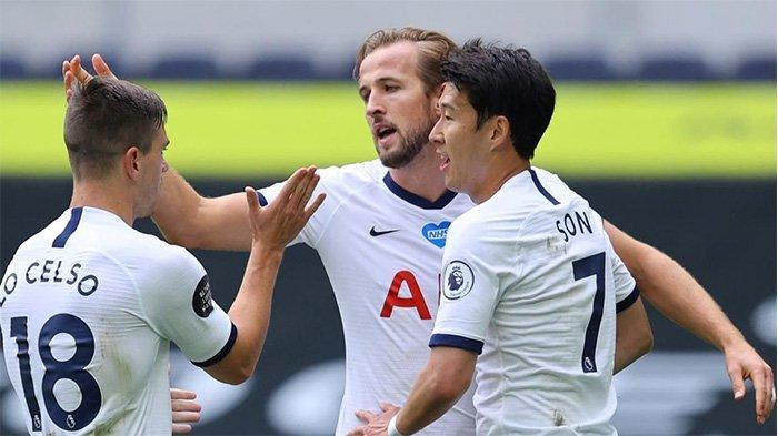 Son berhasil mencetak gol semata wayang Spurs lawan Burnley di Turf Moor, Selasa (27/10/2020).