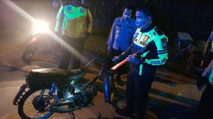 Polisi Bubarkan Balap Liar di Mojokerto, Sita Puluhan Motor Protolan dan Knalpot Brong