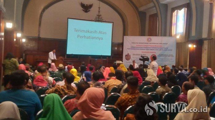 FK Unair Surabaya Sosialisasikan Edukasi Terkait Virus Corona Agar Tak Terjadi Depresi di Masyarakat
