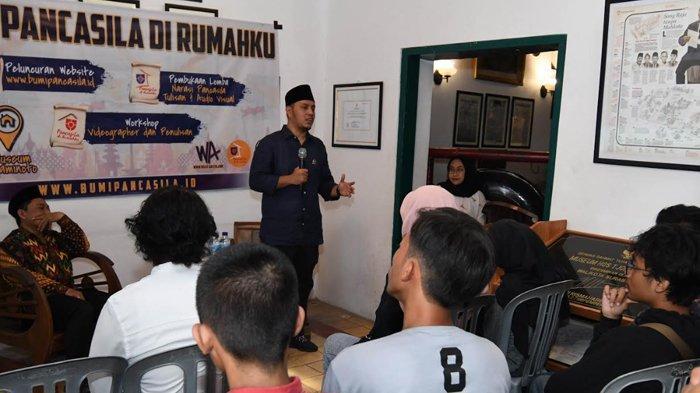 Gelorakan Pancasila untuk Kalangan Milenial, Fraksi Nasdem Gelar Workshop di Rumah HOS Tjokroaminoto