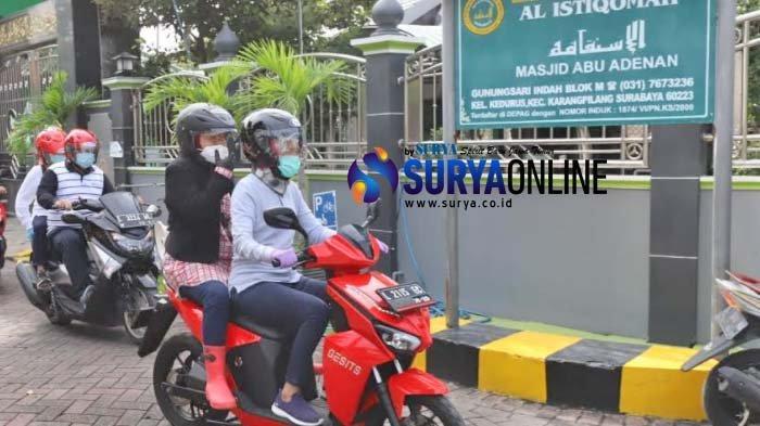 Naik Motor, Risma Woro-Woro Warga Surabaya Tak Keluar Kota saat Momen Libur Natal dan Tahun Baru