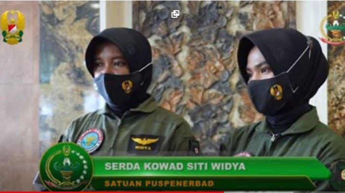 Sosok 2 Prajurit Kowad yang Dipuji Istri Jenderal Andika Perkasa, Serda Siti Widya dan Serda Luxvi Agustin.