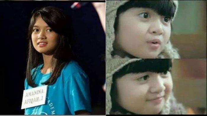 Sosok Cantik Afiqah Bintang Iklan Oreo Yang Kini Jadi Anggota Jkt48 Bandingkan Saat Masih Kecil Surya