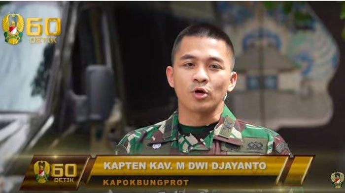 Sosok dan Biodata Kapten M Dwi Djayanto Staf Pribadi Jenderal Andika Perkasa, Beber Sifat Asli KSAD