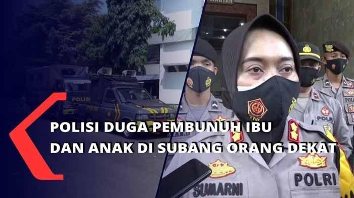 Sosok Danu Pengurus Yayasan Diperiksa Hingga Dinihari, Pembunuh Ibu dan Anak di Subang Masih Nihil