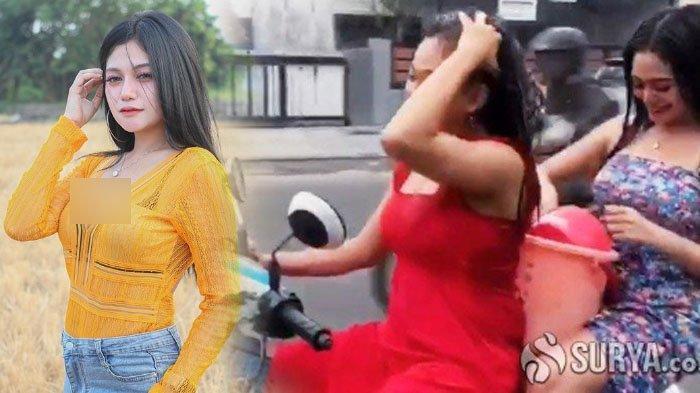 2 Wanita Seksi Kakak Adik Mandi Di Atas Motor Di Mojokerto Diperiksa Polisi Alasannya Bikin Gemes Halaman 3 Surya