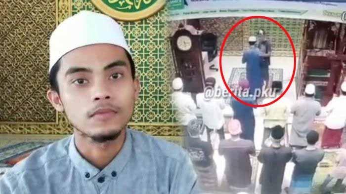 Sosok Juhri Ashari, Imam Masjid Baitul 'Arsy Ditampar Saat Pimpin Sholat Subuh, Ini Pengakuannya
