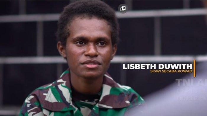 Sosok Lisbeth Prajurit TNI AD Wanita Asli Papua, Perjuangannya Disorot Istri Jenderal Andika Perkasa