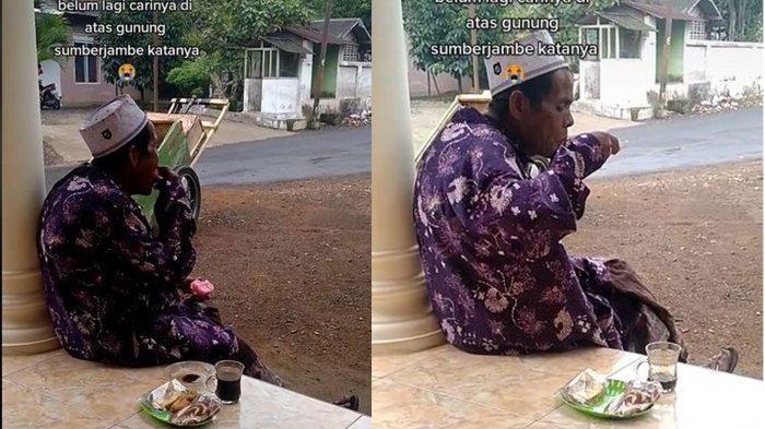 Sosok Mbah Iyem Kakek di Jember yang Viral di TikTok, Jalan Kaki Berkilo-kilo Meter Jualan Sayur