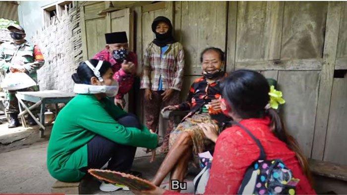 Sosok Mbah Ribet yang Menangis Haru Dapat Bantuan Istri Jenderal Andika Perkasa, Kondisinya Miris
