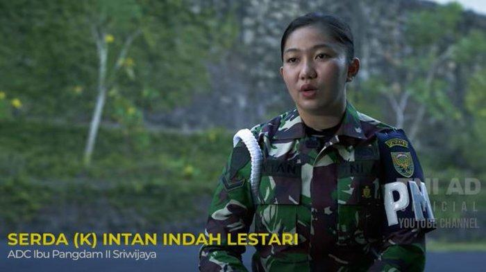 Sosok Serda Intan Prajurit TNI AD Wanita yang Jadi Penjaga Istri Jenderal: Feminim Tapi Jago Tembak