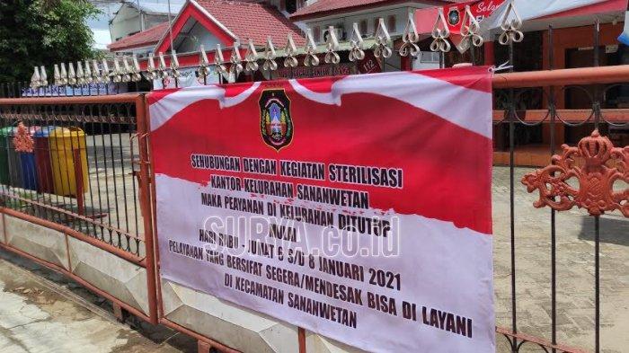 Lagi, Kantor Kelurahan di Kota Blitar Tutup Sementara Setelah Satu Pegawai Terpapar Covid-19