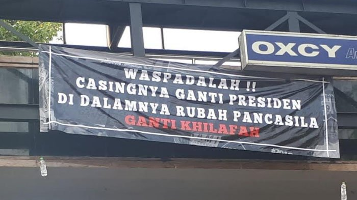 Spanduk Provokatif Muncul di Surabaya, Begini Kata Pengurus Gerindra
