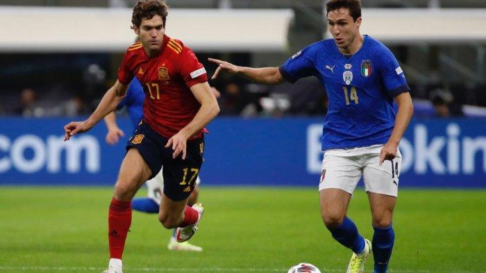 Hasil Skor Italia vs Spanyol 1-2: Akhiri Rekor Azzurri, Tim Matador Lolos Final UEFA Nations League