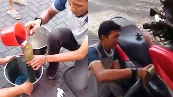 VIDEO - Pria Ini Buktikan Kecurangan yang Dialaminya saat Beli Bensin di SPBU, Videonya Viral!