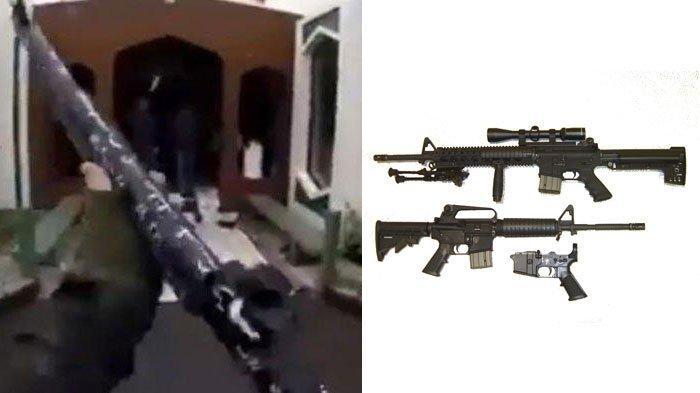Spesifikasi AR-15 Senjata yang Dipakai Brenton Tarrant untuk Tembaki Jamaah di Masjid Selandia Baru