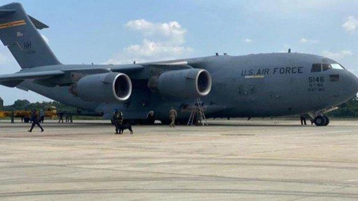 Spesifikasi Pesawat C-17 Globemaster yang Angkut Personel Angkatan Udara Amerika ke Indonesia