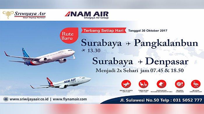 Hut Ke 14 Sriwijaya Air Group Tebar Diskon Harga Tiket Surya