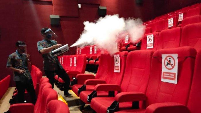 Pembukaan Bioskop Tunggu Lampu Hijau, Risiko Penularan Daerah Masih Tinggi Harus Direm