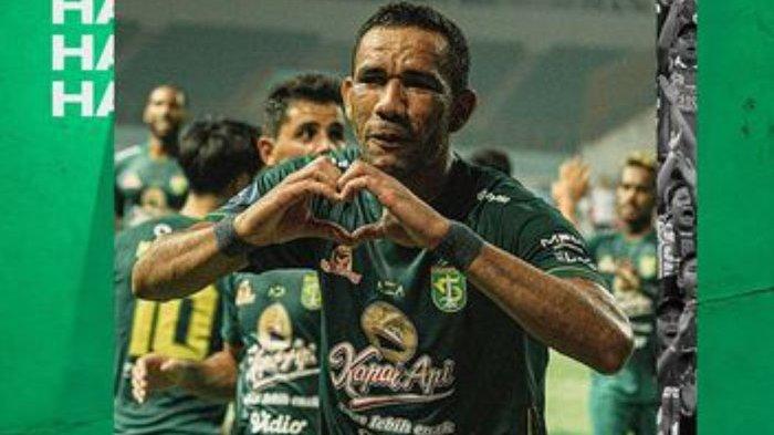 Stiker Persebaya Surabaya Jose Wilkson Jadi Top Skor Liga 1 2021 Usai Kalahkan Persikabo 3-1